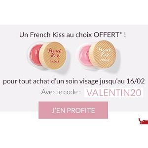 Caudalie : Un French Kiss Offert pour l'Achat d'un Soin Visage