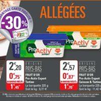 Margarine sans Huile de Palme ProActiv chez G20 (15/01 – 26/01)