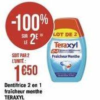 Dentifrice Teraxyl chez Géant Casino (20/01 – 02/02)