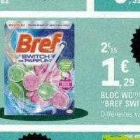 Bloc WC Bref chez Leclerc (21/01 – 01/02)