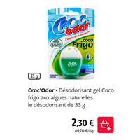 Désodorisant Coco Frigo Croc'Odor chez Intermarché (01/01 – 31/01)