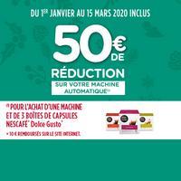 Offre de Remboursement Krups : 50€ Remboursés sur Machine Dolce Gusto DROP®, GENIO®, LUMIO® ou ESPERTA™