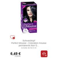 Coloration Perfect Mousse Schwarzkopf chez Intermarché (21/01 – 02/02)