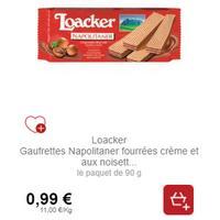 Gaufrettes Loacker partout (13/01 – 10/02)