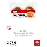 Pancakes Le Ster chez Intermarché (21/01 – 02/02)