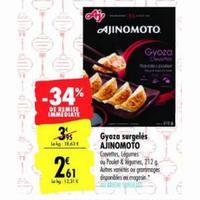 Produits Ajinomoto chez Carrefour (21/01 – 24/01)