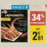 Produits Ajinomoto chez Carrefour Market (21/01 – 24/01)