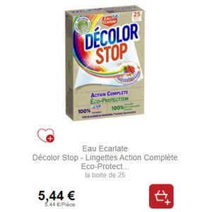 Lingettes Décolor Stop Eco-Protection chez Intermarché (21/01 – 02/02)