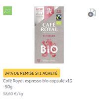 Capsules Café Royal chez Auchan (28/01)