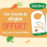 Bon Plan Blédina : 4 Produits Achetés = 1 Bavoir Offert