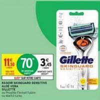 Rasoir Gillette Skinguard Sensitive chez Intermarché (21/01 – 02/02)