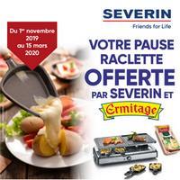 Bon Plan Severin : Jusqu'à 14€ Offert sur le Fromage à Raclette Ermitage
