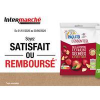 Offre de Remboursement Paquito : Fruits Séchés L'Essentiel Satisfait ou 100% Remboursé