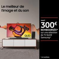 Offre de Remboursement Samsung : Jusqu'à 300€ Remboursés sur TV QLED