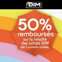 Offre de Remboursement Dim BDays : 50% Remboursés dès 2 Produits achetés