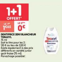 Dentifrice Teraxyl chez Leader Price (21/01 – 26/01)
