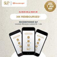 Offre de Remboursement SLP : 30€ Remboursés sur une sélection d'iPhone
