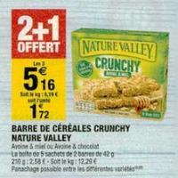 Barres de Céréales Crunchy Nature Valley chez Carrefour Market (14/01 – 26/01)