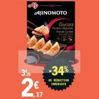 Gyoza Ajinomoto chez Leclerc (17/01 – 25/01)