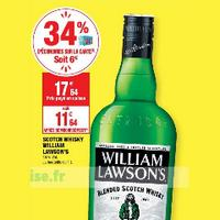 Scotch Whisky William Lawson's chez Carrefour Market (07/01 – 19/01)