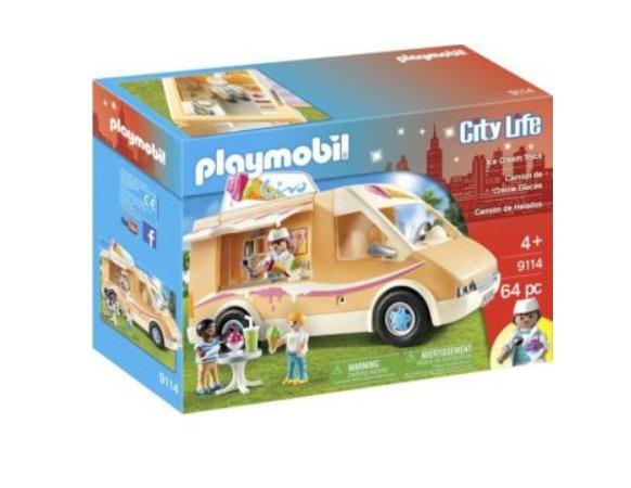 11,50€ le camion de crème glacée PLAYMOBIL 9114
