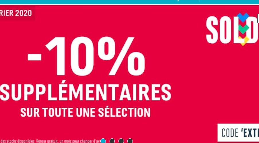 Soldes Chausport : 10% de réduction en plus sur Timberland Adidas..