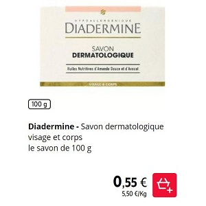 Savon Diadermine chez Intermarché (21/01 – 26/01)