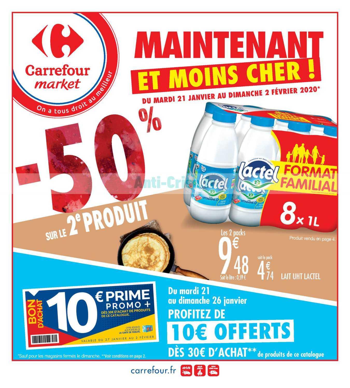 Catalogue Carrefour Market du 21 janvier au 02 février 2020