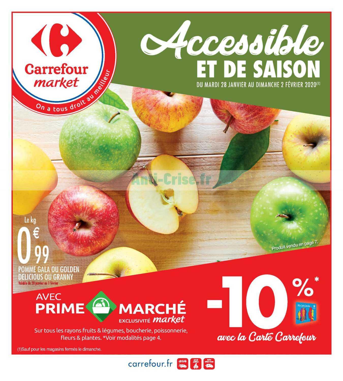 Catalogue Carrefour Market du 28 janvier au 02 février 2020