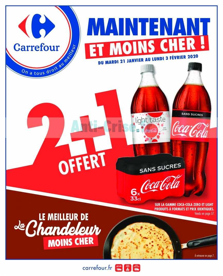 Catalogue Carrefour du 21 janvier au 03 février 2020