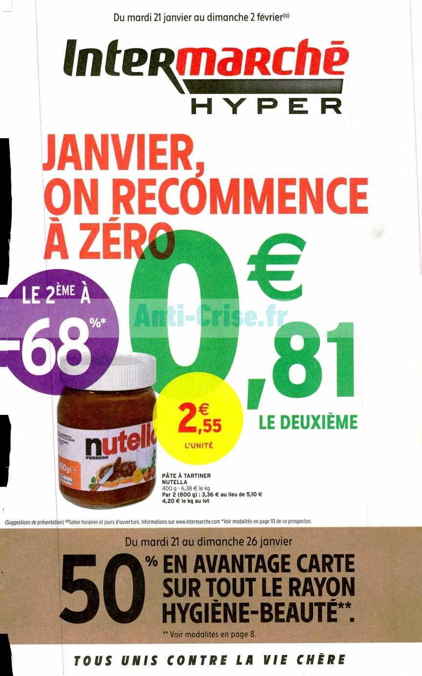 Catalogue Intermarché du 21 janvier au 02 février 2020 (Version Hyper)
