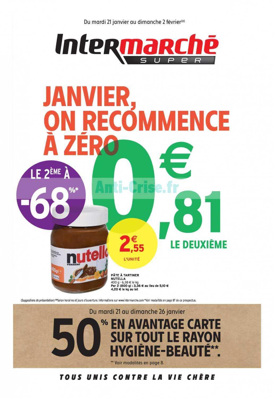 Catalogue Intermarche Du 21 Janvier Au 02 Fevrier 2020 Version Super Catalogues Promos Bons Plans Economisez Anti Crise Fr