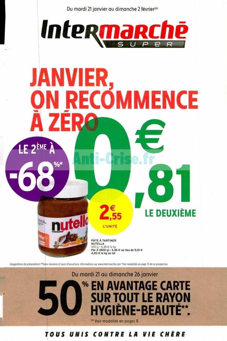 Catalogue Intermarché du 21 janvier au 02 février 2020 (Version Super)