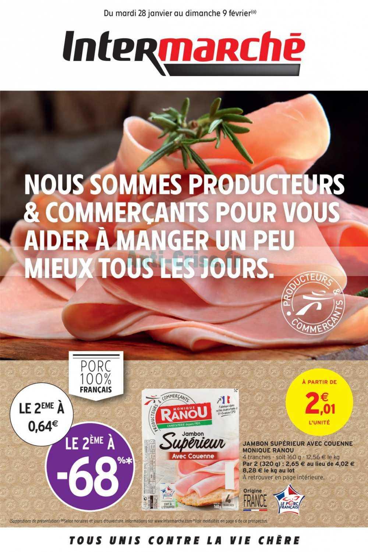 Catalogue Intermarche Du 28 Janvier Au 09 Fevrier 2020 Catalogues Promos Bons Plans Economisez Anti Crise Fr