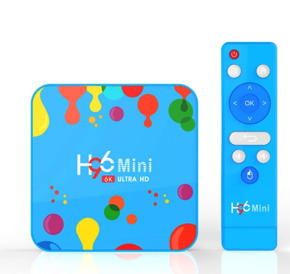 Box Android H96 Mini 4go – 128go à 37.5€