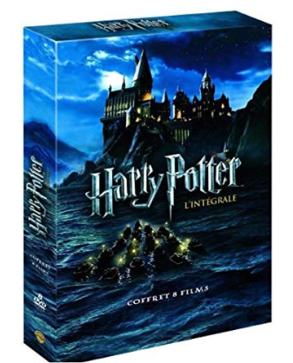 Integrale Harry Potter à 14.99€ en dvd , 19.99€ en Blu ray