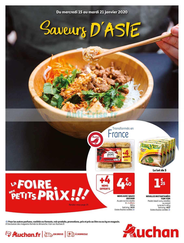 Catalogue Auchan du 15 au 21 janvier 2020