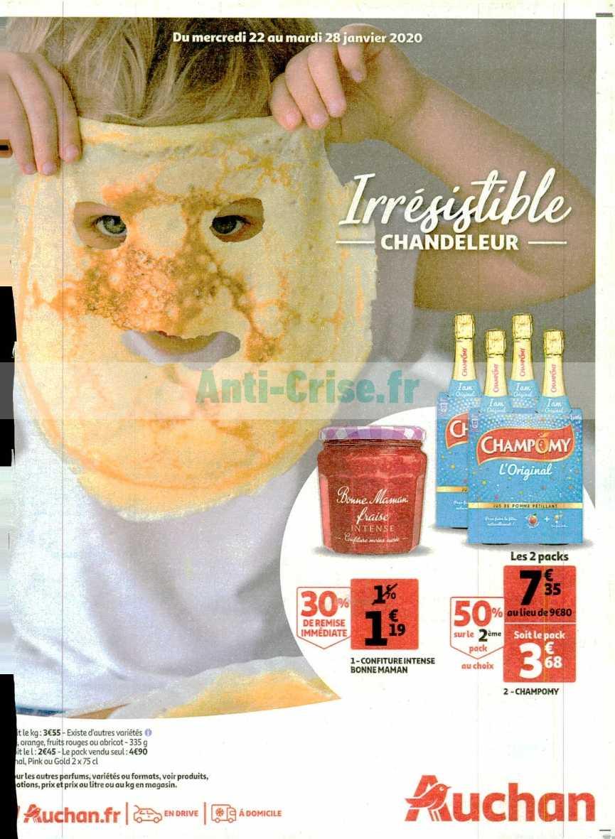Catalogue Auchan du 22 au 28 janvier 2020