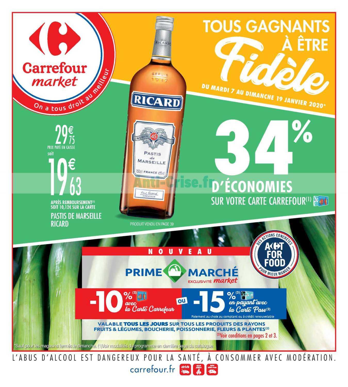 Catalogue Carrefour Market du 07 au 19 janvier 2020