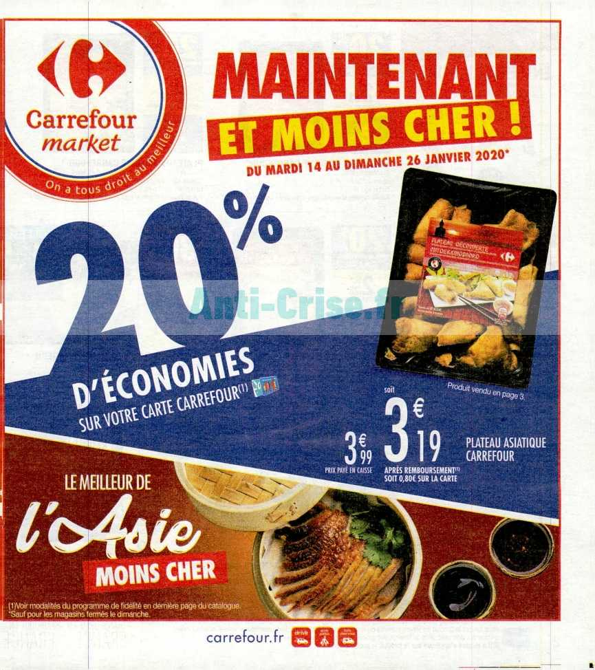 Catalogue Carrefour Market du 14 au 26 janvier 2020