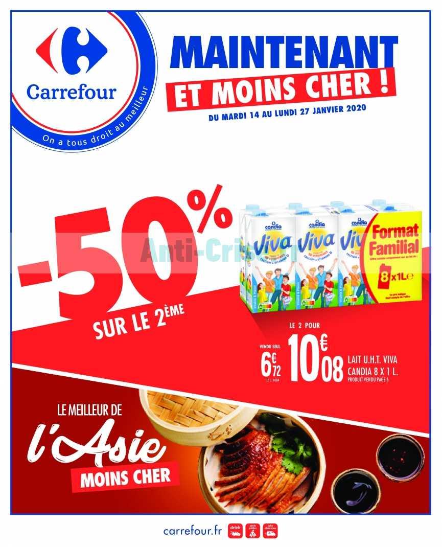 Catalogue Carrefour du 14 au 27 janvier 2020