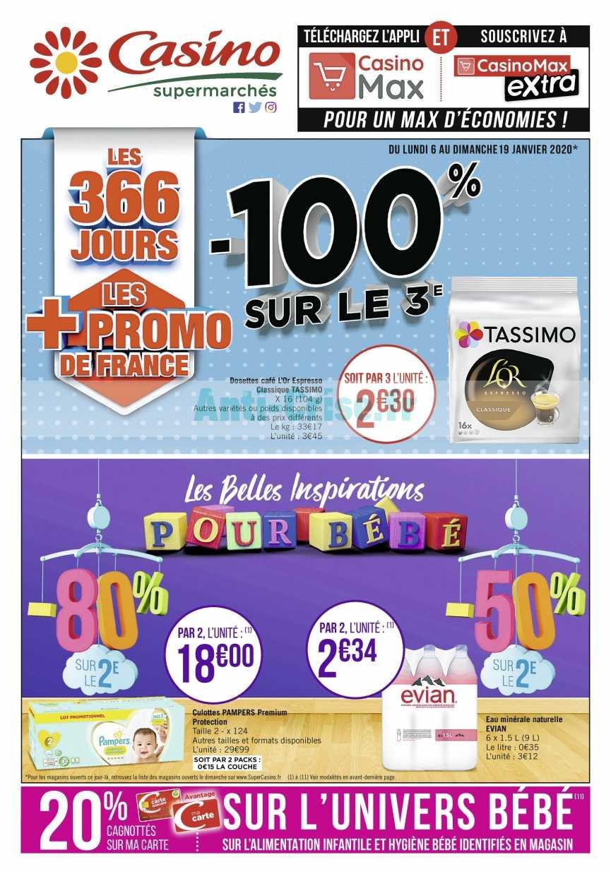 Catalogue Casino du 06 au 19 janvier 2020