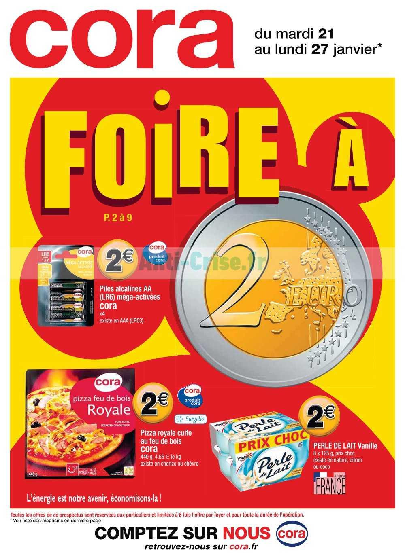Catalogue Cora du 21 au 27 janvier 2020