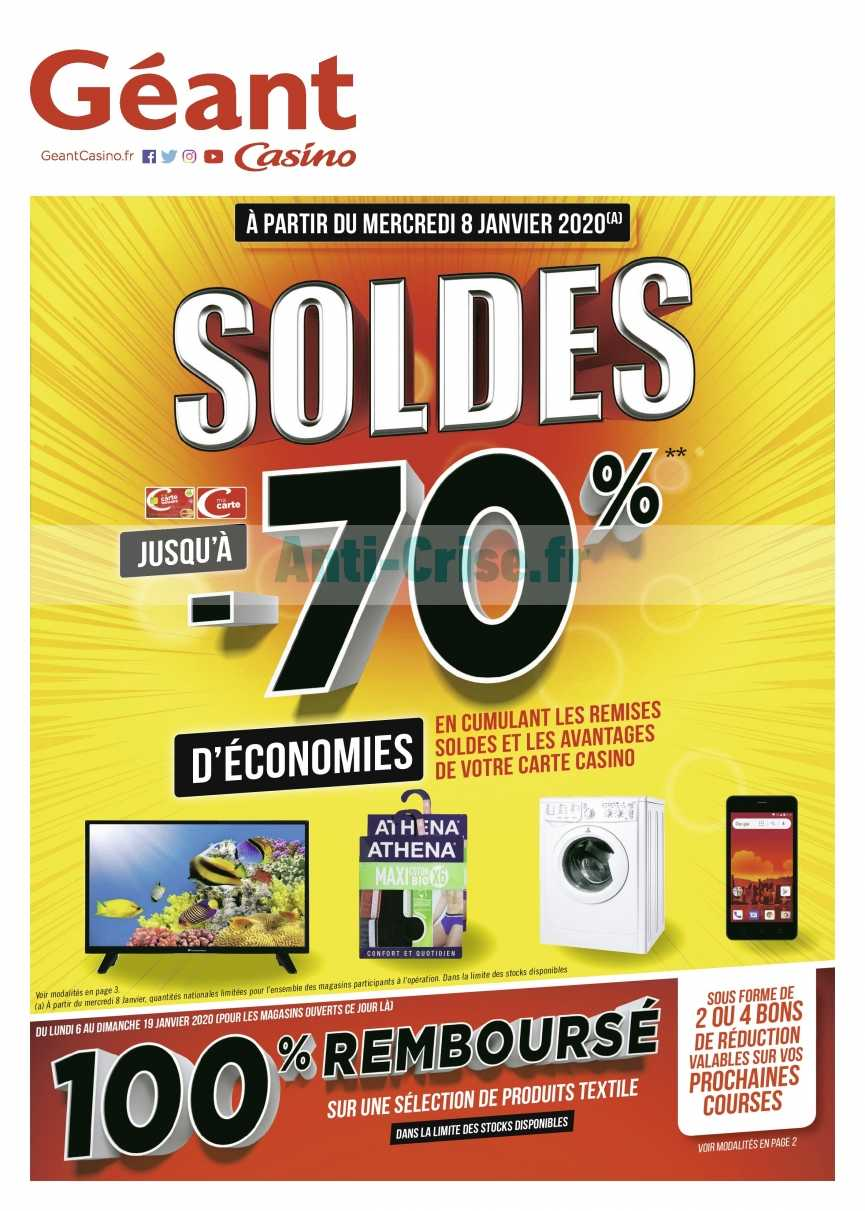 Catalogue Géant Casino du 06 au 19 janvier 2020