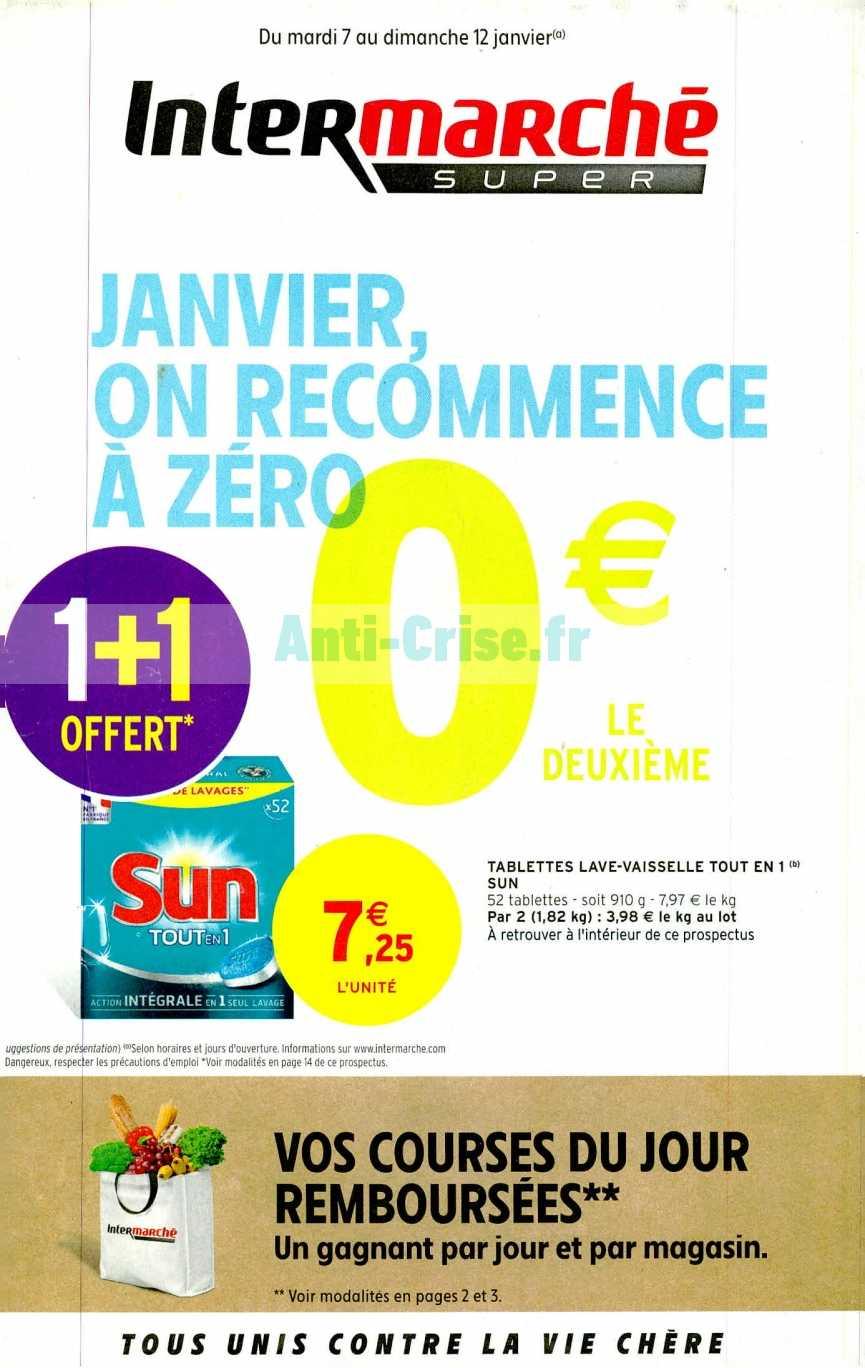 Catalogue Intermarche Du 07 Au 12 Janvier 2020 Version Super Catalogues Promos Bons Plans Economisez Anti Crise Fr