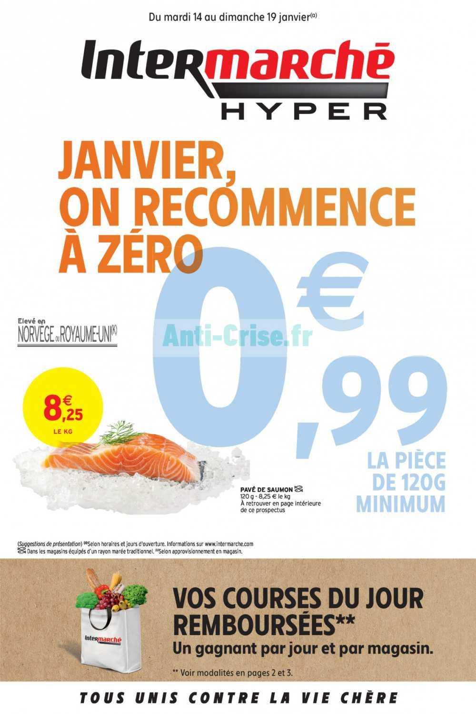 Catalogue Intermarché du 14 au 19 janvier 2020 (Version Hyper)