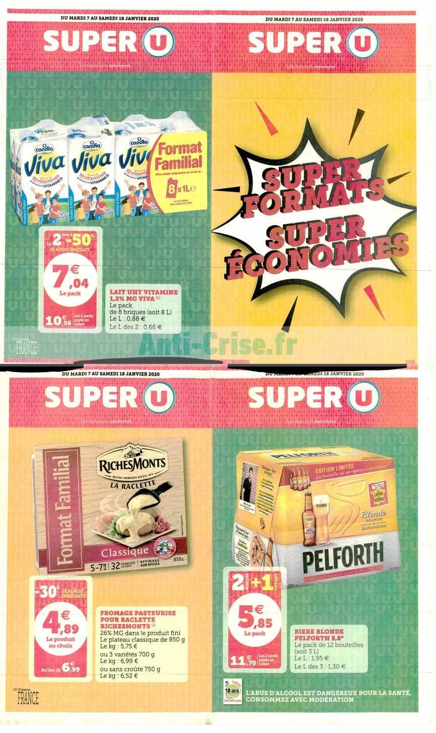 Catalogue Super U du 07 au 18 janvier 2020 (Super Formats)
