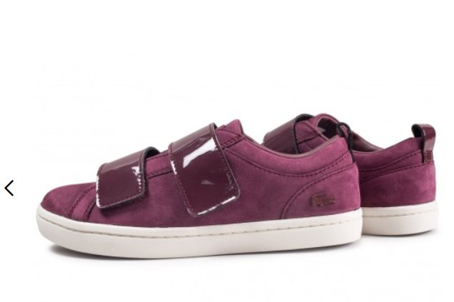 27€ les sneakers femmes Lacoste Straightset Strap