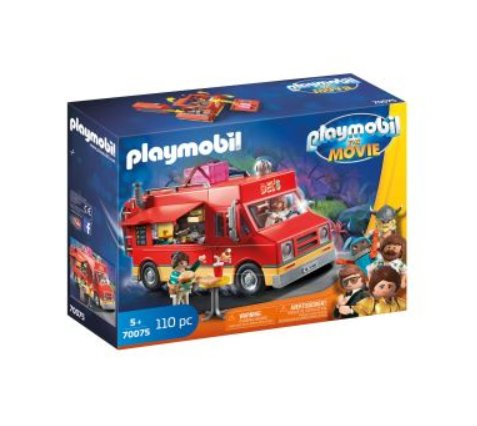 18€ le jouet  Playmobil The Movie Food Truck de Del – 70075
