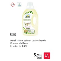 Lessive Liquide Naturissime Persil chez Intermarché (28/01 – 02/02)